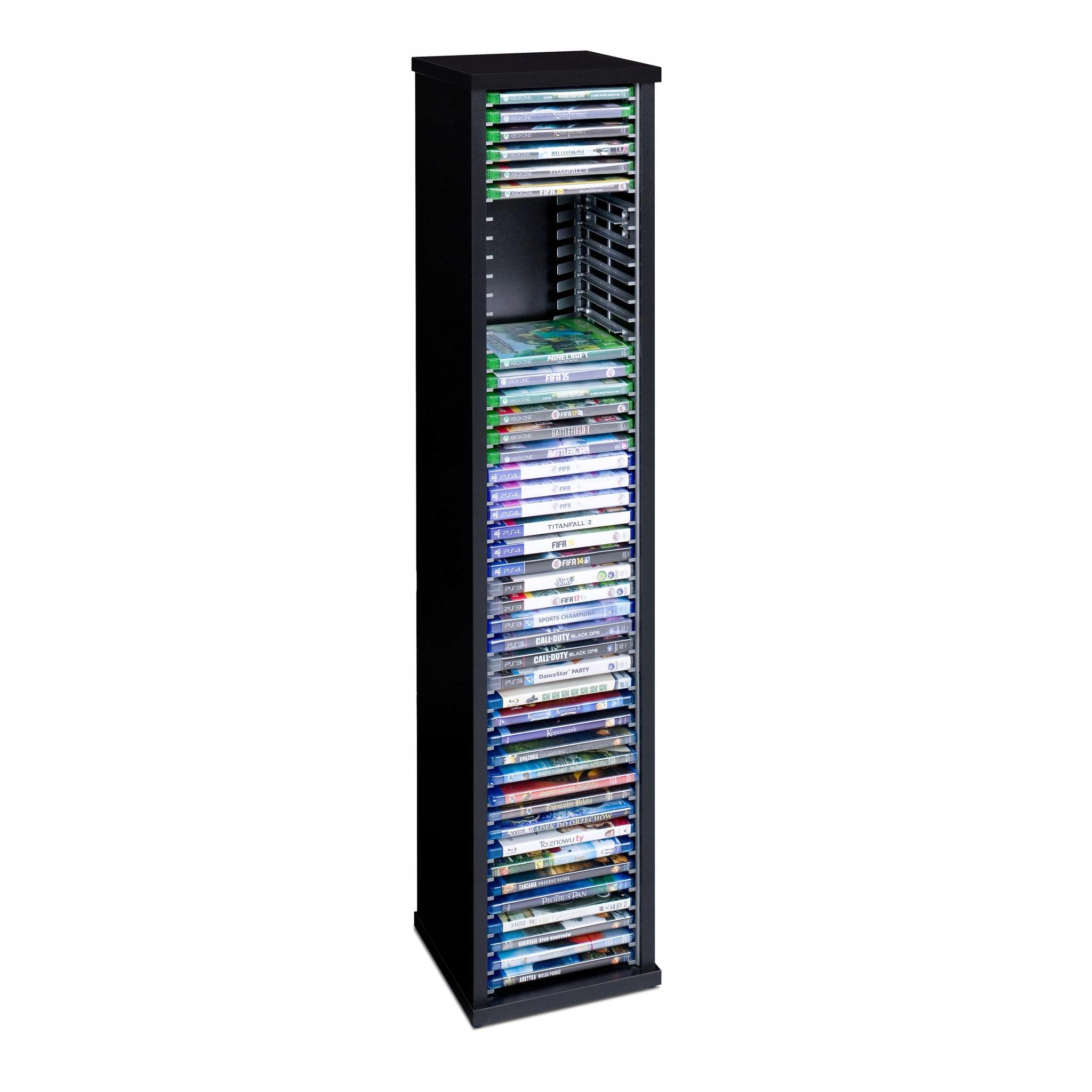 Stojan Kontajner Rack hra PS3 PS4 Xbox Blu-ray 45