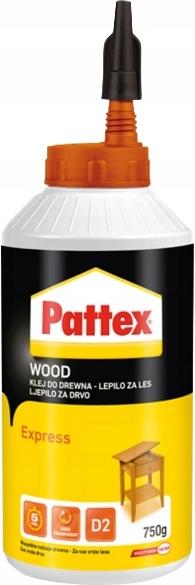 Pattex express столярный клей быстросхватывающийся 750г