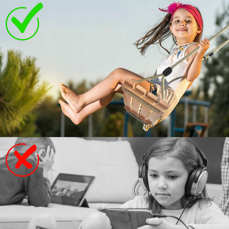 Detská hojdačka WOOD PREMIUM SEAT + spojovacie prvky Rôzna značka