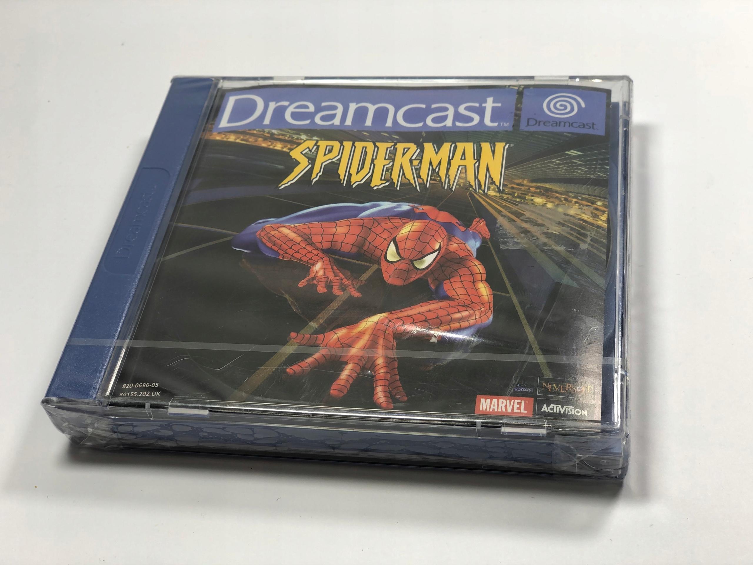 Spider Man Dreamcast nová fólia