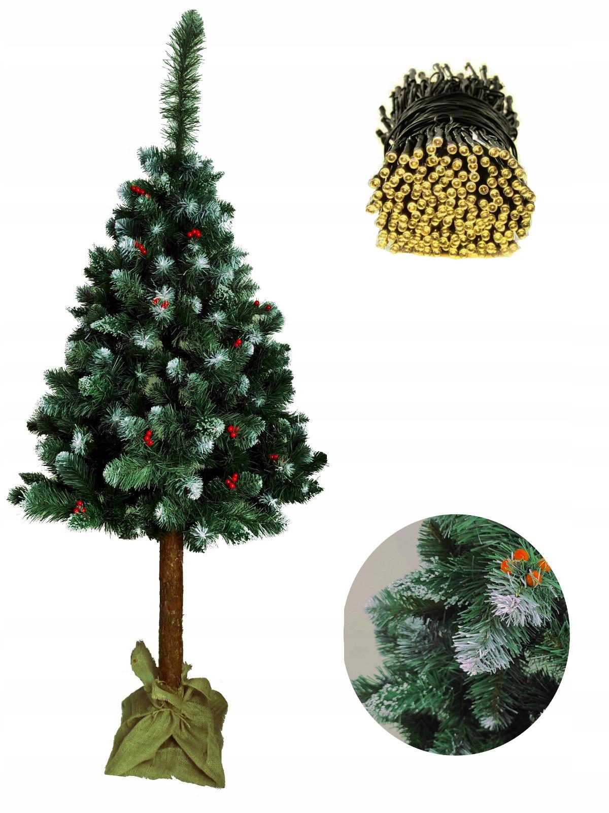 Vianočný stromček 160 PINE DIAMOND ON Trunk umelý + ZADARMO