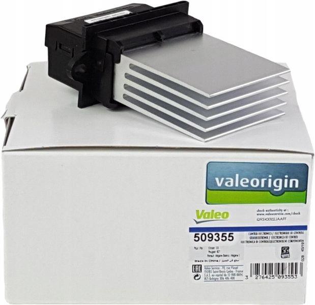 valeo резистор воздуходувки renault megane ii scenic