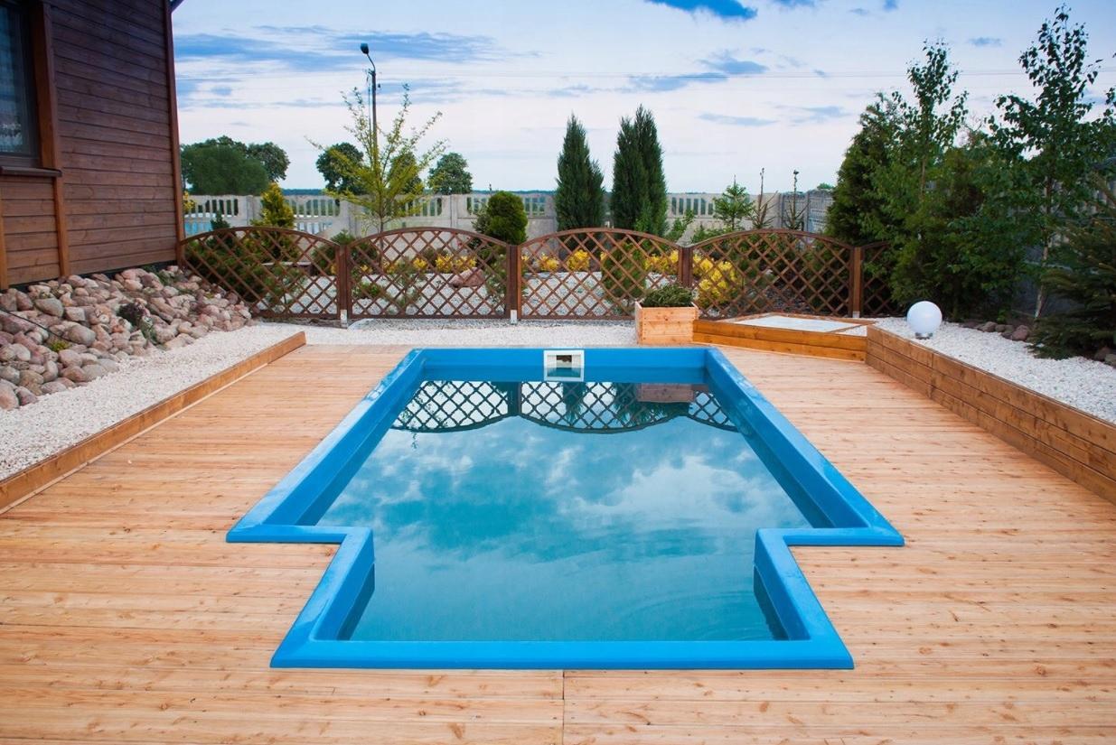 Садовый бассейн из полиэстера 600x272x135 SET -10%