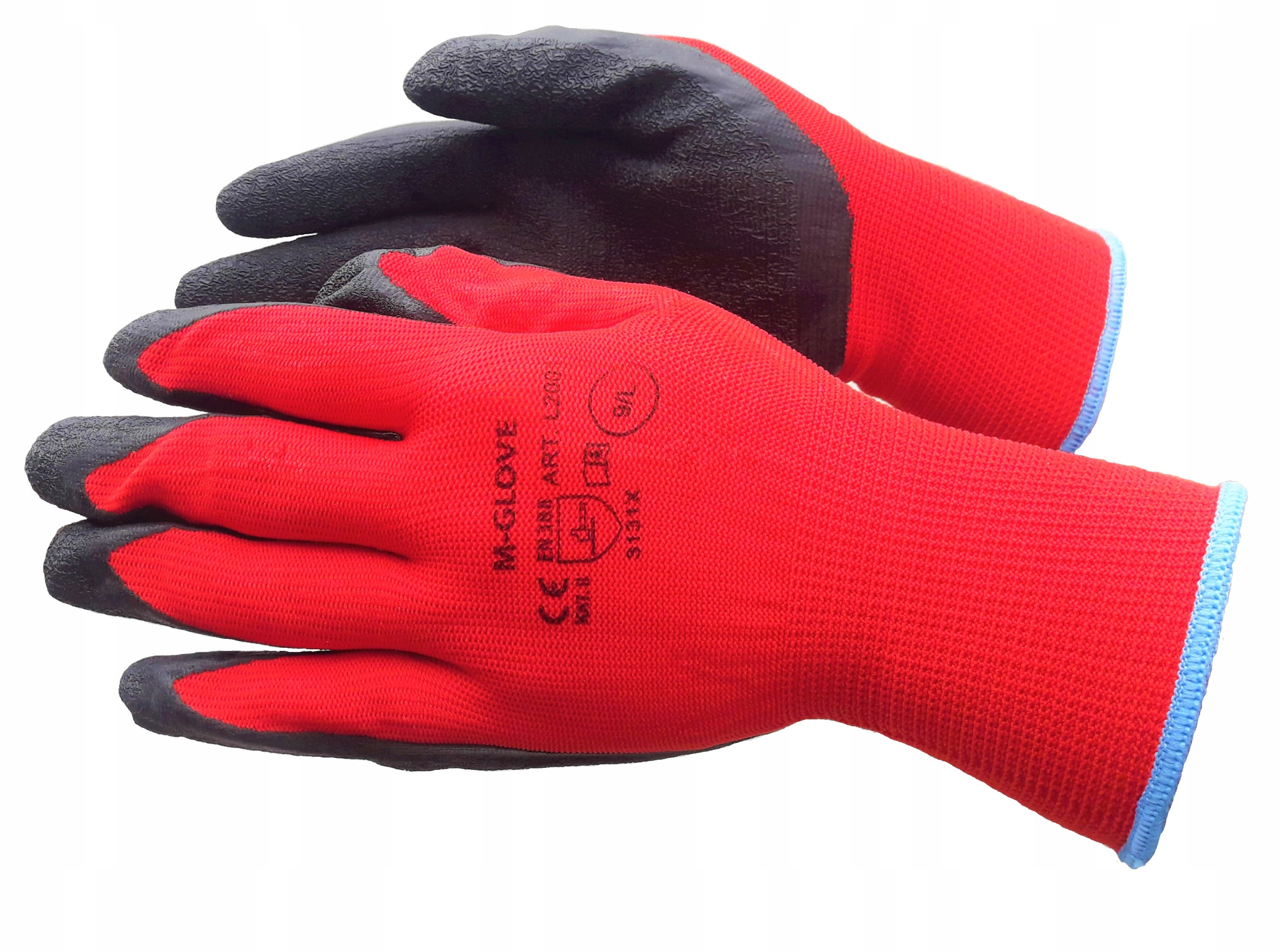 Защитные перчатки, рабочие перчатки с покрытием.9