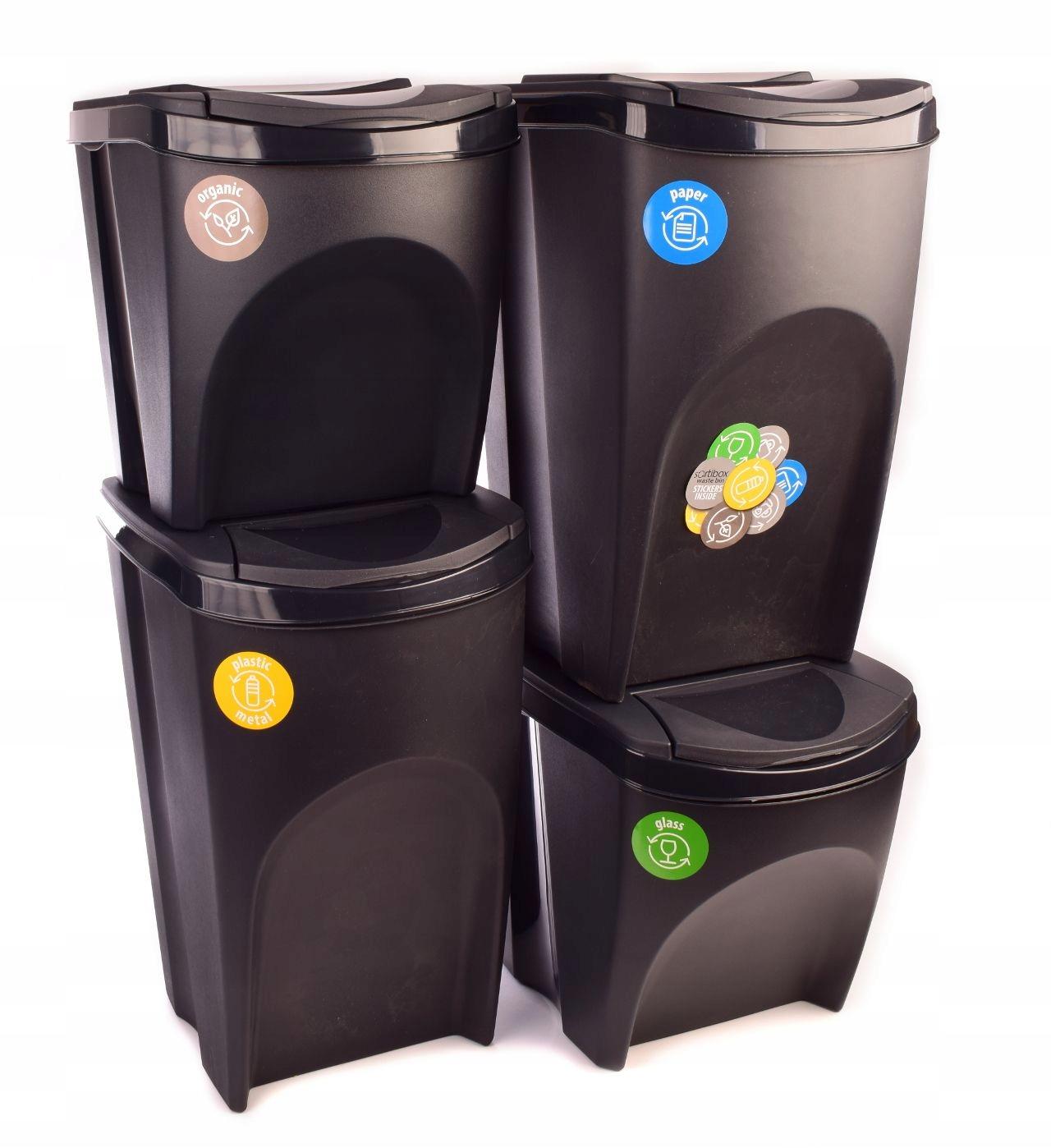 Корзина может установить для мусора сегрегации 2x35'2X25l