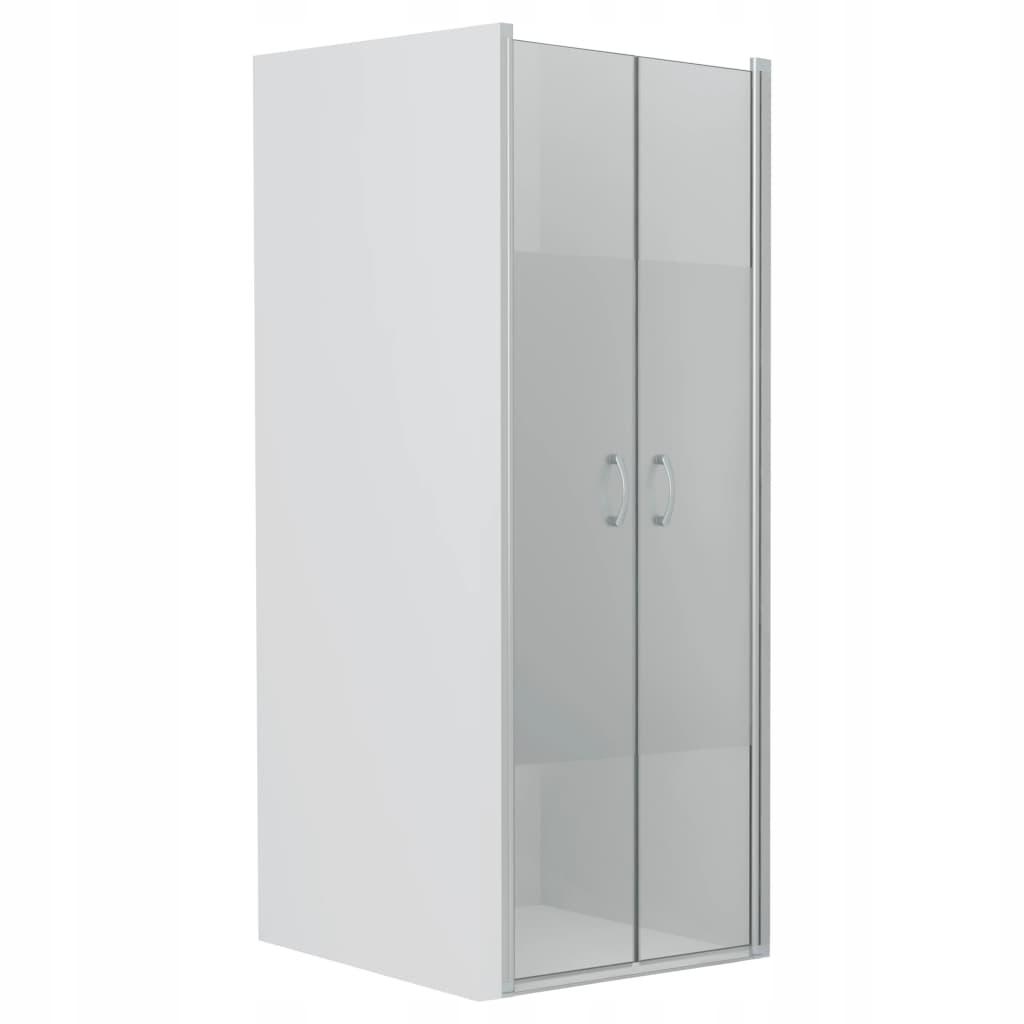 Sprchové dvere, polomatné, ESG, 85 x 185 cm