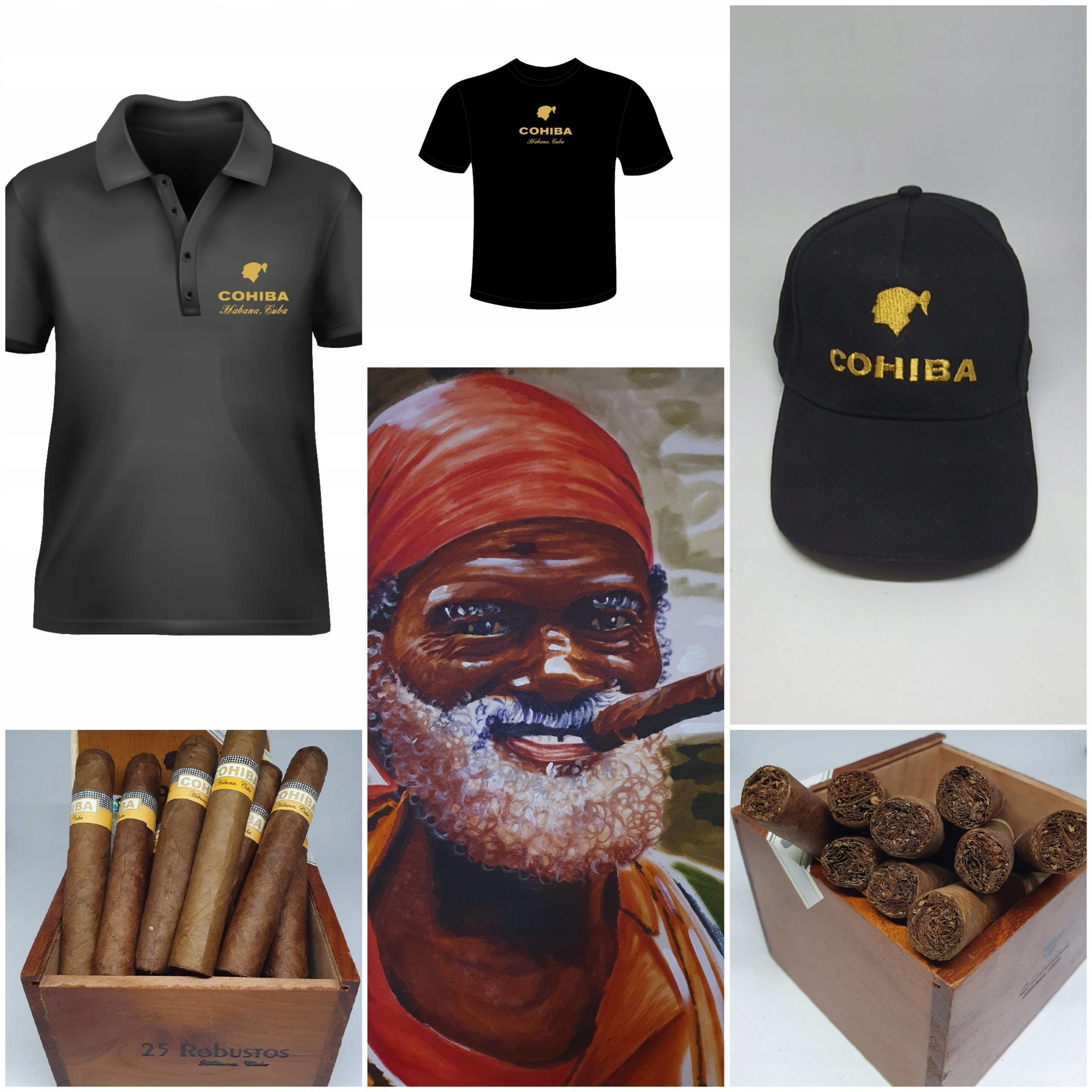 Сигара Cohiba Robustos купить 5 шт. Подарок на выбор