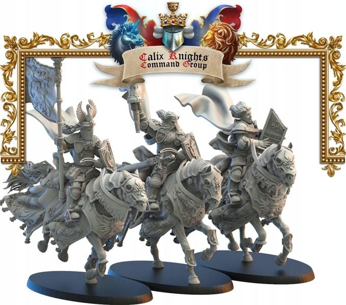Kráľovstvo Mercia Calix Knights CMD - Lost Kingdom