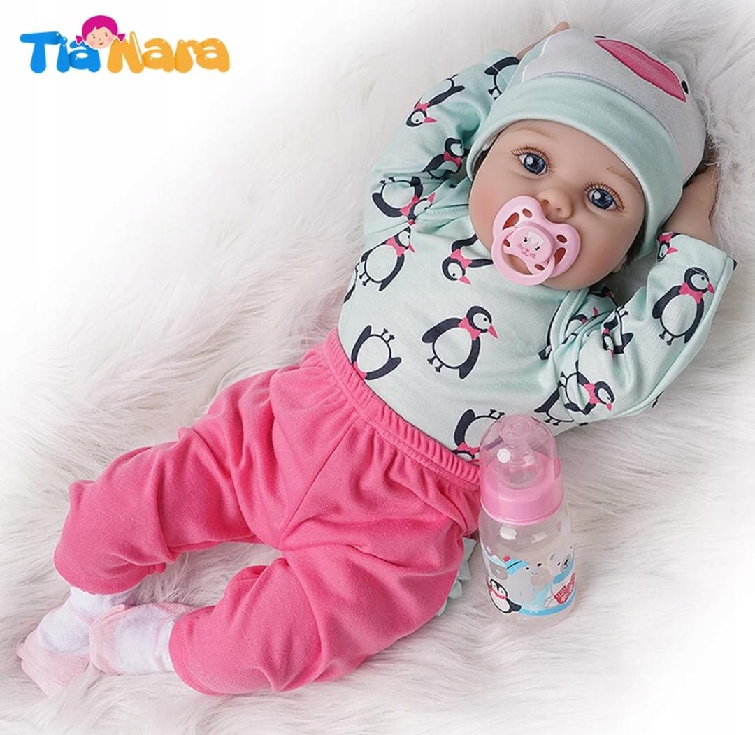 REBORN bábika 52cm dieťa poštovné 24h