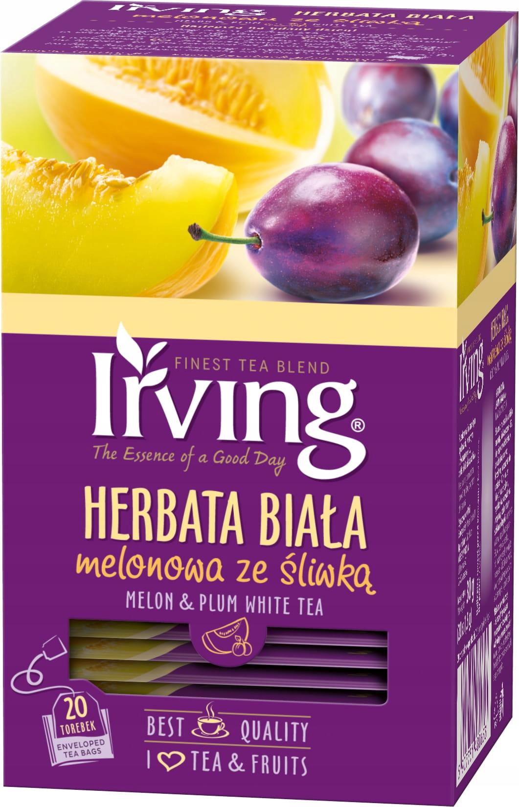 Купить Белый чай melonowa zesliwka 20 kopertek на Otpravka - цены и фото - доставка из Польши и стран Европы в Украину.