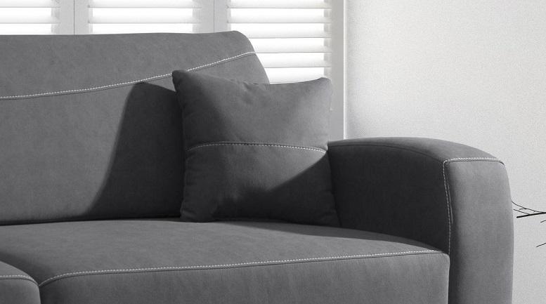 RENO LUX stilvolles Sofa für das Wohnzimmer / f. Schlafbereich / Farben Schlafbereich - Länge (cm) 191-200 cm