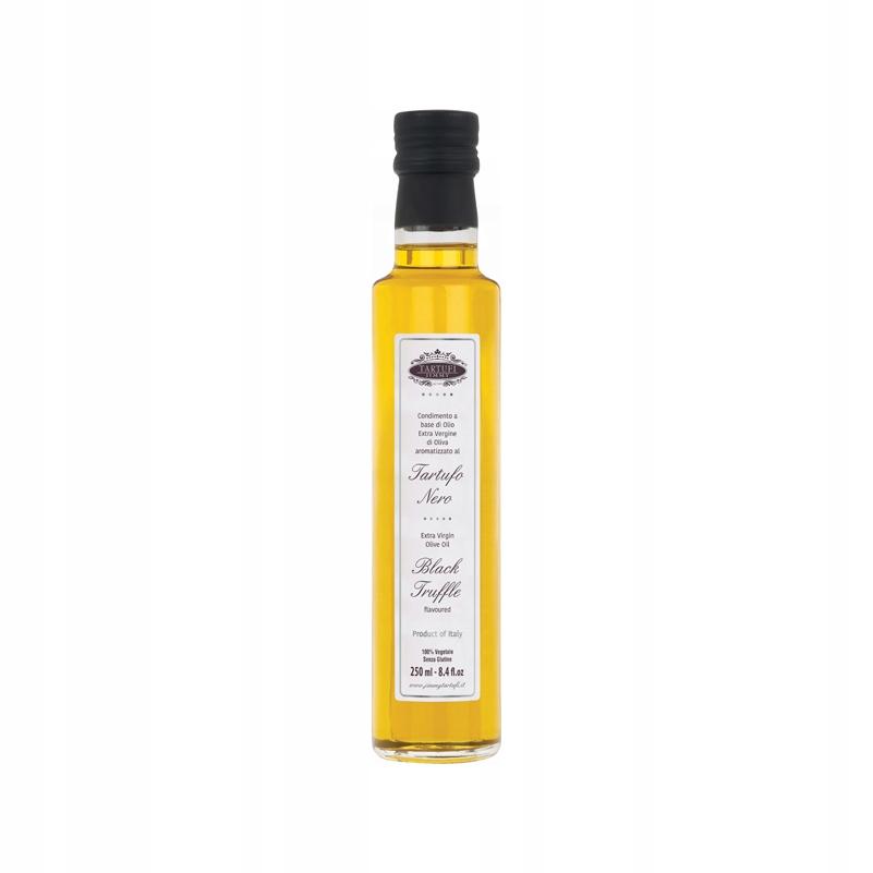 Oliwa aromatyzowana CzarnąTruflą 250ml Tartufi J.