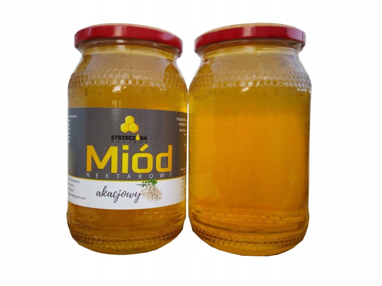 Акациевый мед, Акациевый, свежий 1,2 кг
