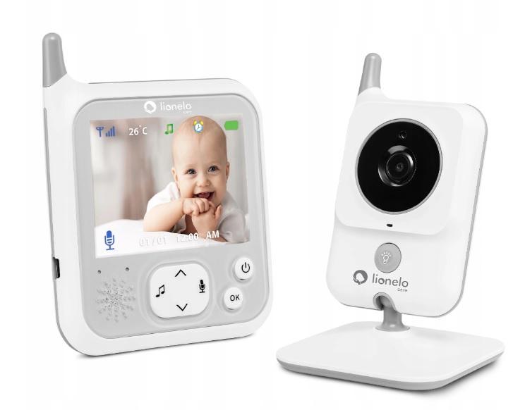 Lionelo Niania elektroniczna Babyline 7.1 kamera