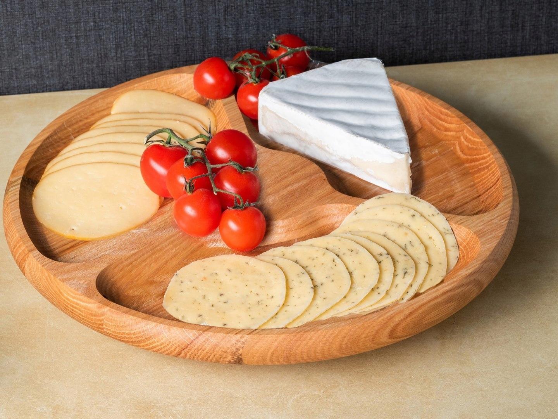 Obrotowa Drewniana Deska Taca Do Serwowania Serow 8320142250