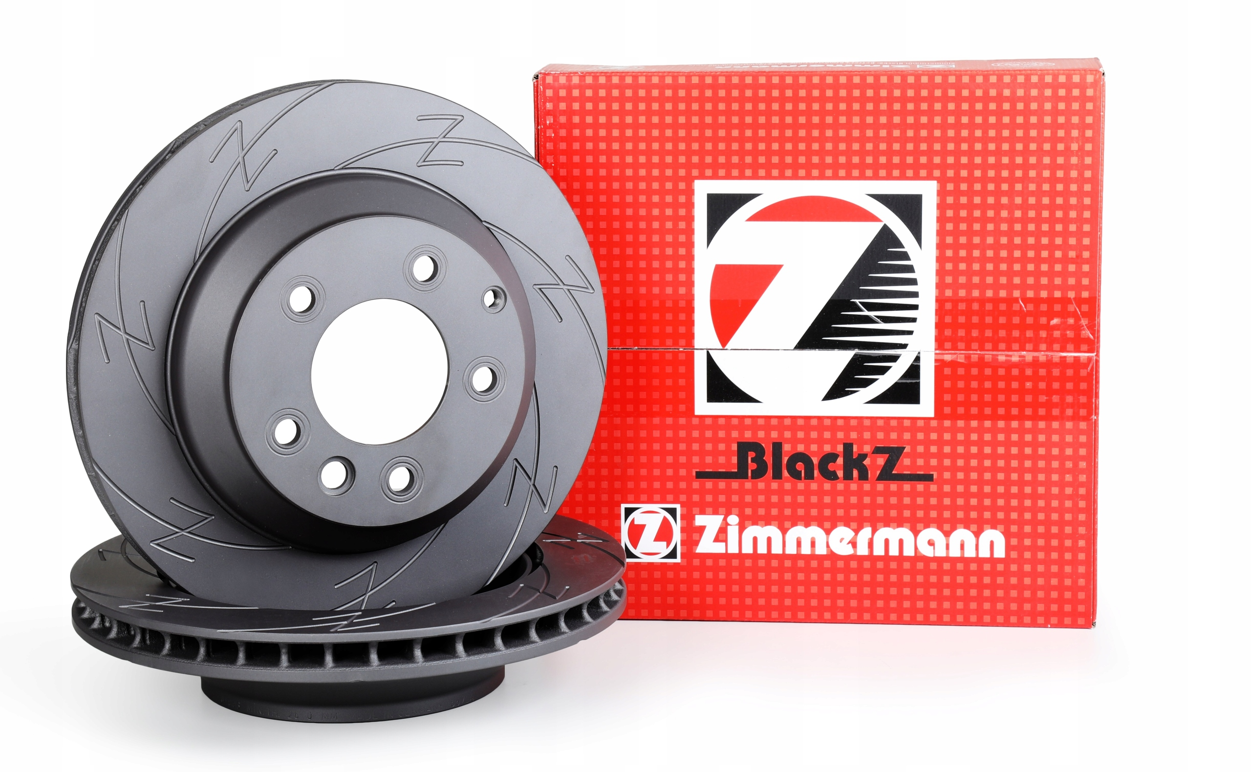 Tarcze ZIMMERMANN BLACK Z Przód - BMW 5 E60 324mm