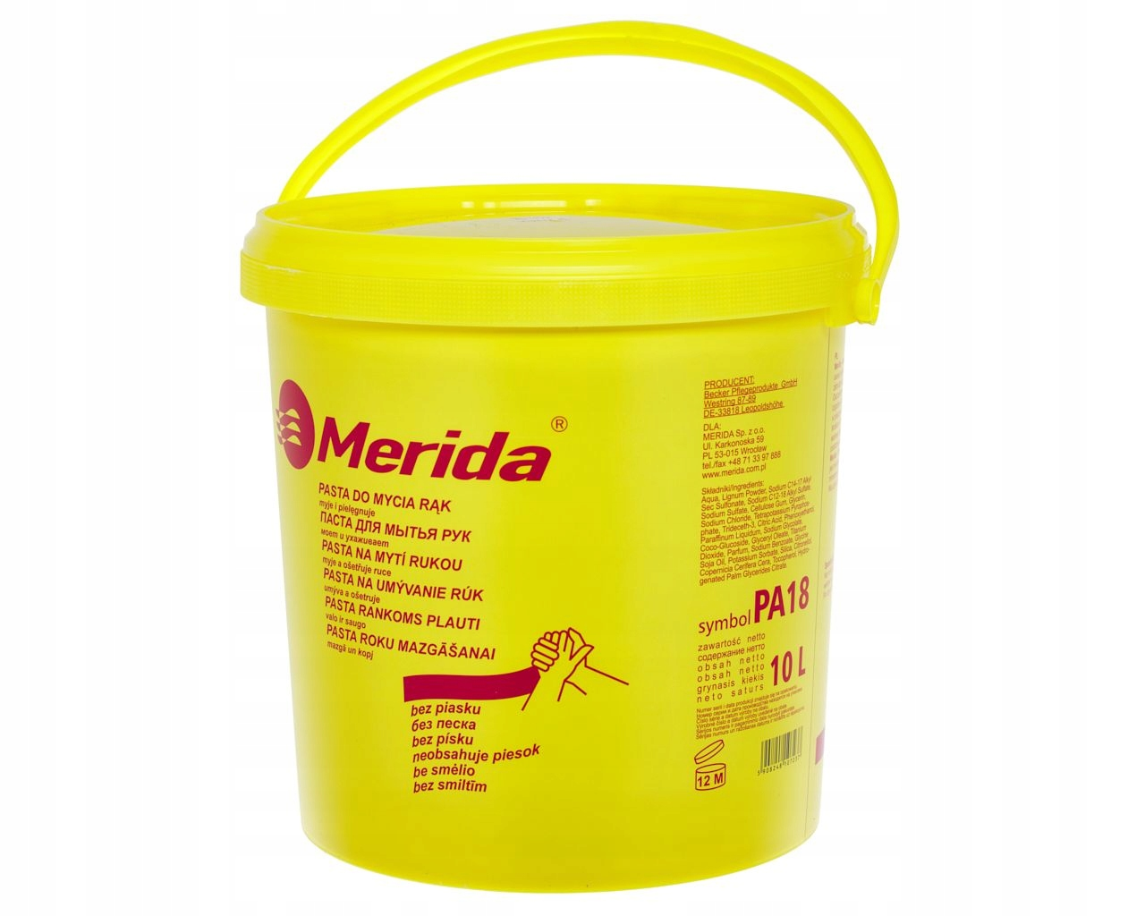 ЭФФЕКТИВНАЯ Паста для рук H&S MERIDA 10L
