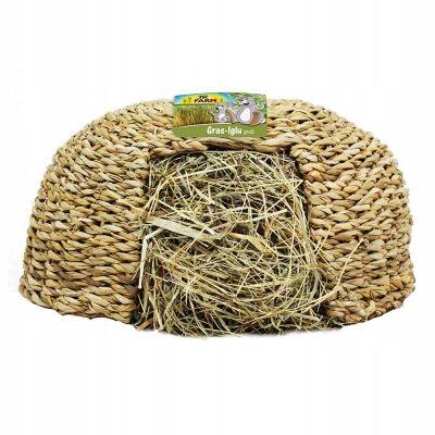 Домик съедобный для кролика JR Farm hay igloo 310g