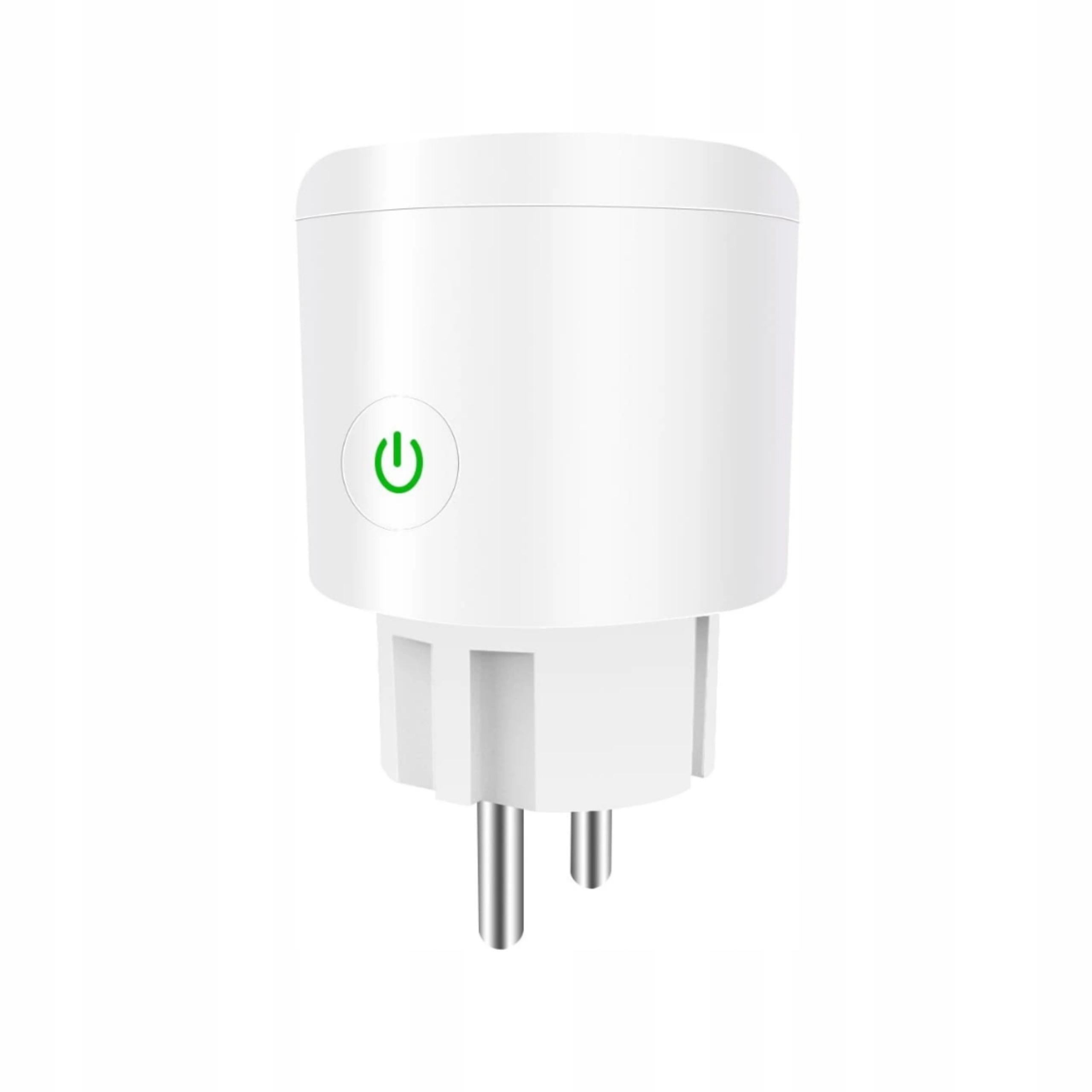 Inteligentne gniazdko WiFi SMART LIFE WTYCZKA 16A