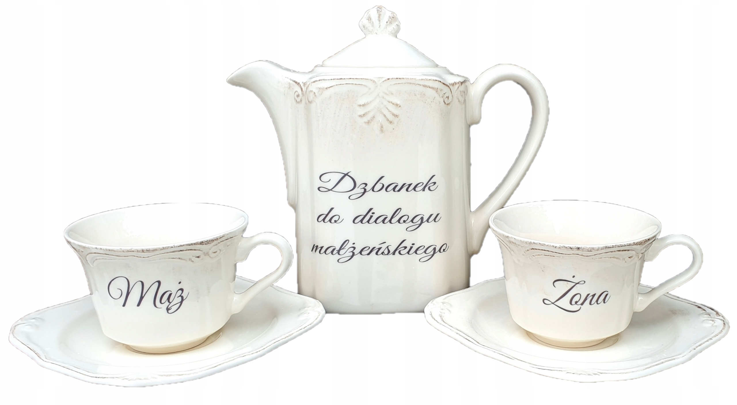 Darčekové 25. výročie, 50. výročie, Jug + Coffee Cup