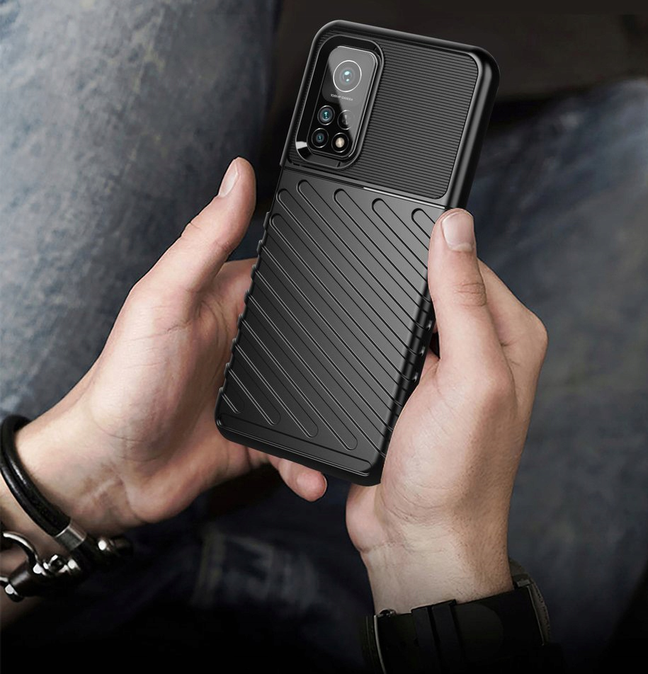 Etui do Xiaomi Mi 10T Pancerne Case + Szkło 9H Przeznaczenie Xiaomi