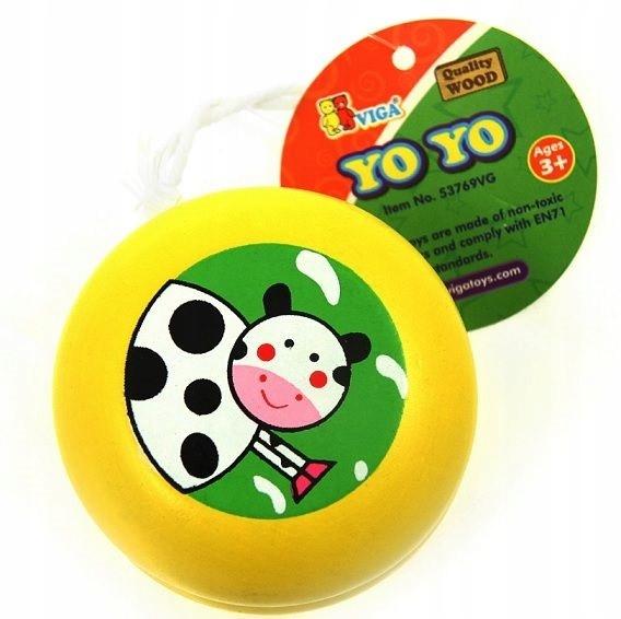 Купить Игрушка деревянная для детей йо-йо цветные Вига на Otpravka - цены и фото - доставка из Польши и стран Европы в Украину.