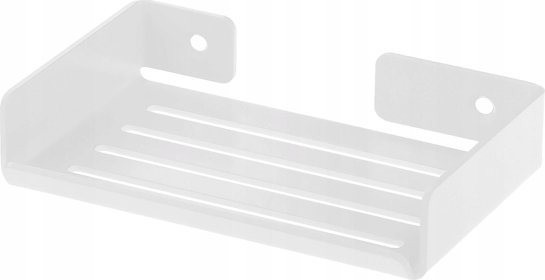 Nástenná mydelnička Mokko biela ADM A411 Deante