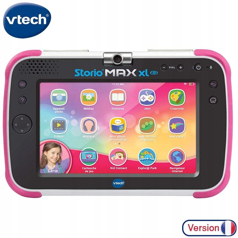 Tablet VTech Storio Max XL 2.0 ružový, francúzsky