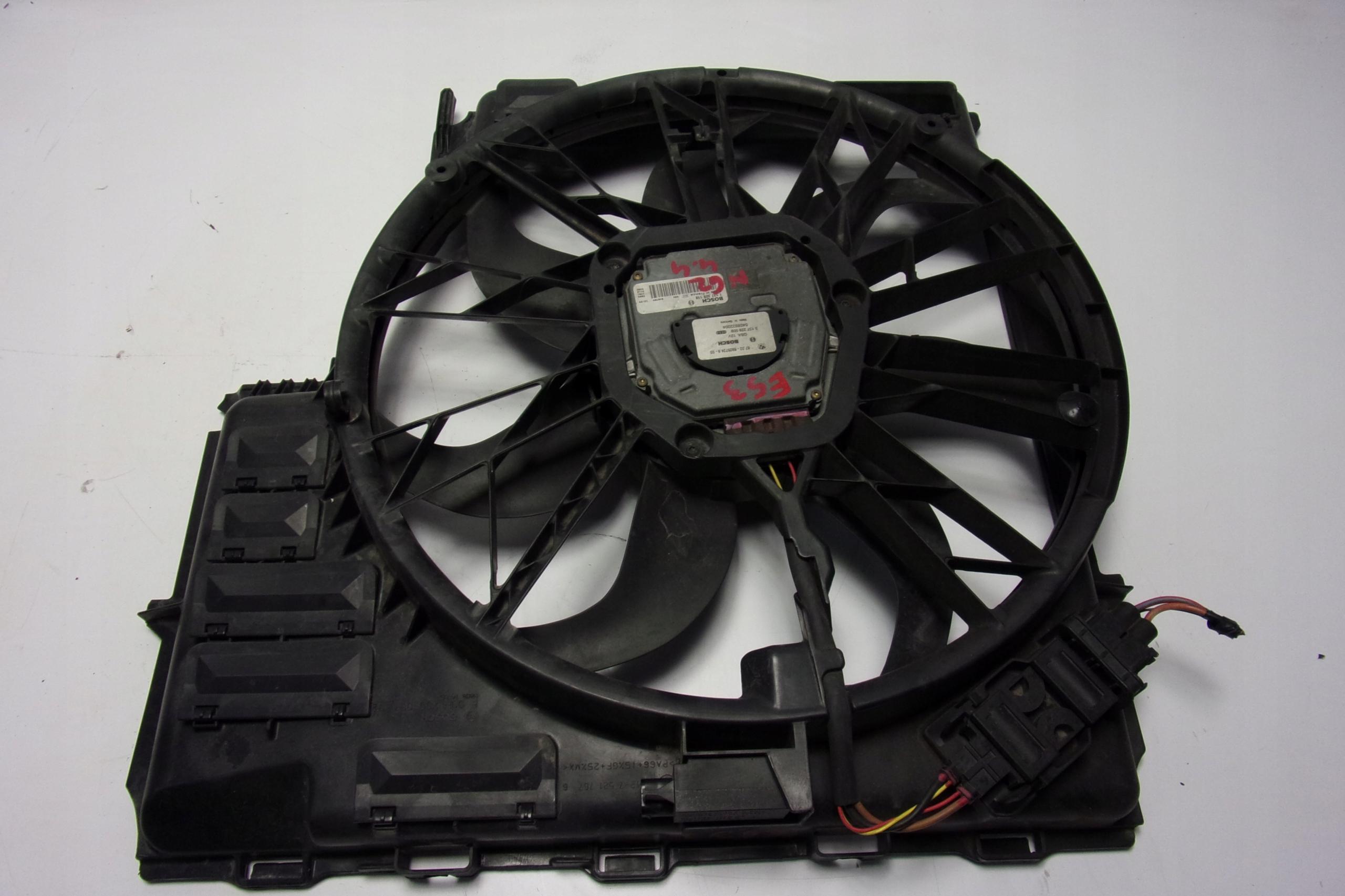 bmw e53 x5 44 корпус вентилятора кондиционирования воздуха