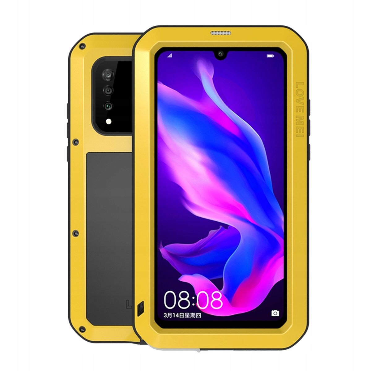 Love Mei Pancerne Etui Case Do Huawei P30 Lite