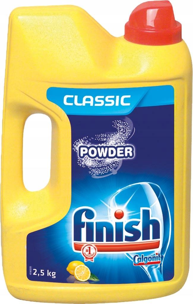 ПОРОШОК ДЛЯ посудомоечных МАШИН FINISH CLASSIC ЛИМОН 2,5 кг