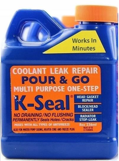 k-seal ремонт повреждена прокладка головки