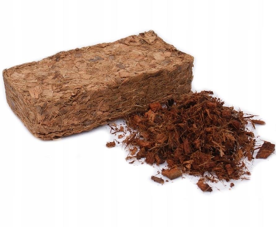 CHIPSY KOKOSOWE jakość Hortigrunt BRYKIET 500g
