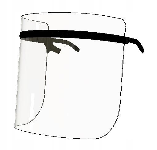 МАСКА, щиток защитный, okularowa