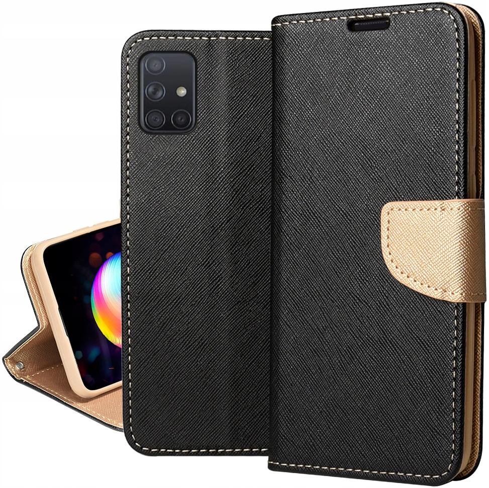 Etui Fancy Case + SZKŁO 9H do Samsung Galaxy A51