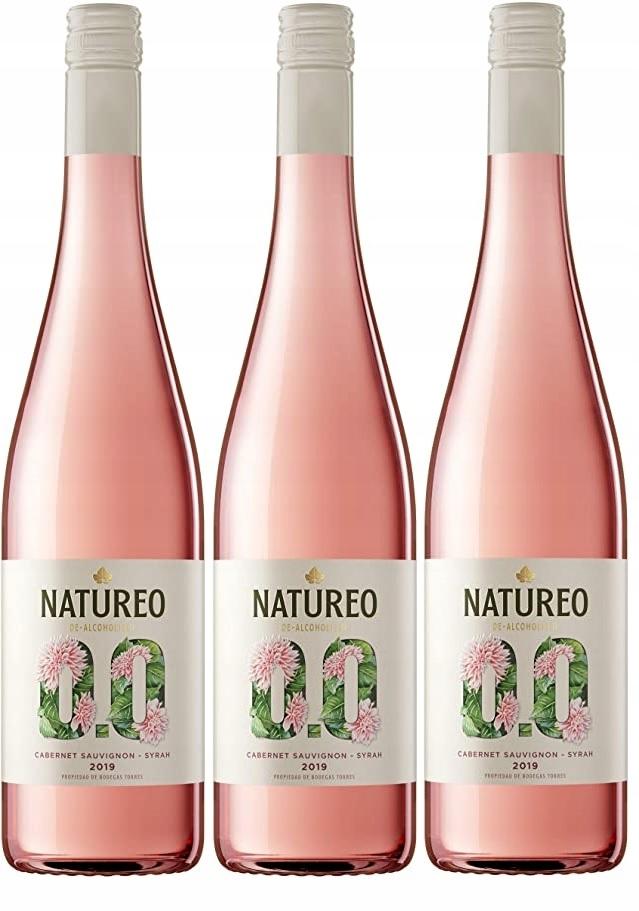 Вино Spain Natureo Syrah / Caber 0% набор из 3-х вин