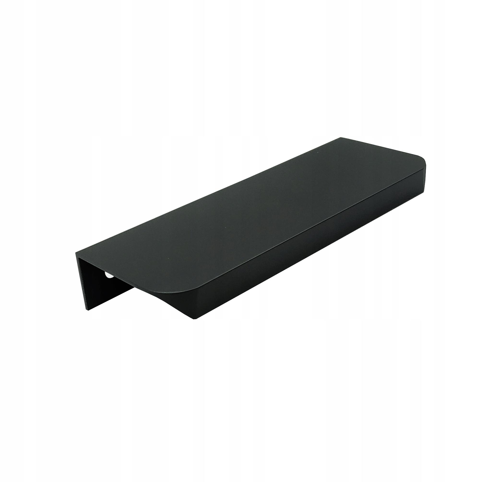 Кромочный держатель UA06, матовый черный, 64 / 84мм
