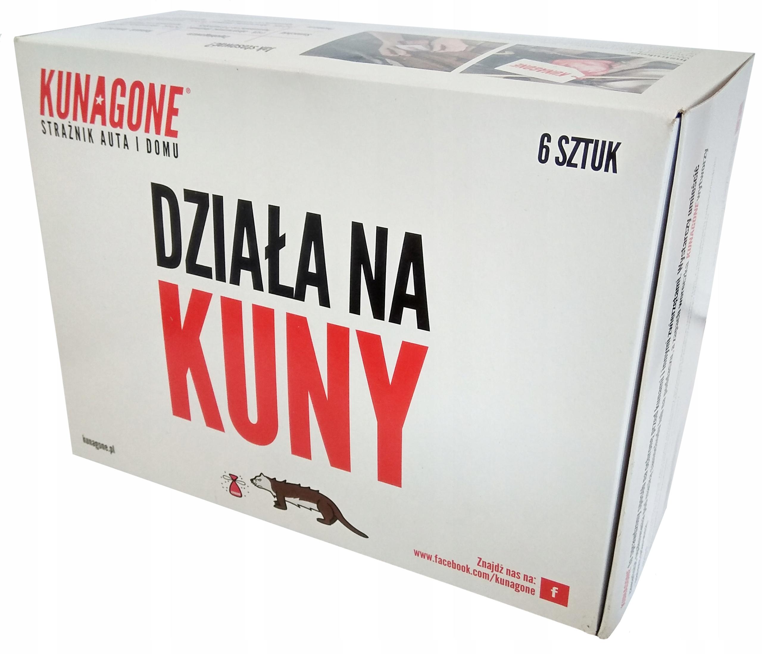 Zawieszki odstraszająca kuny KunaGone 6 sztuk Producent KunaGone