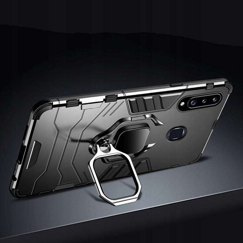Etui do Samsung Galaxy A20S Pancerne Armor + Szkło Dedykowany model Samsung Galaxy A20S