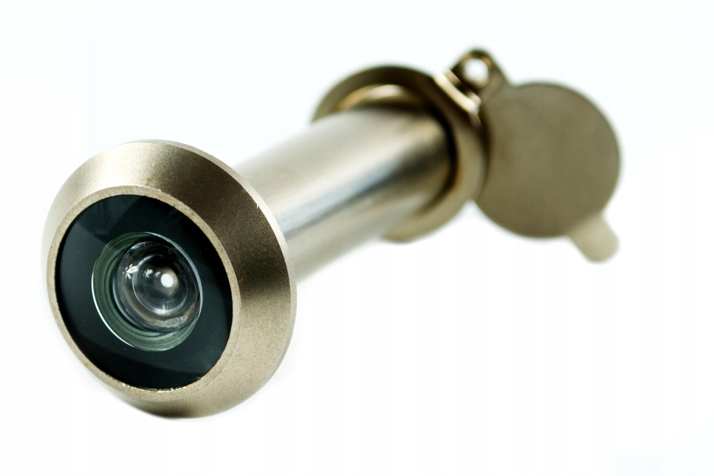 Wizjer GERDA 14mm 35-50 mm do Drzwi Judasz Satyna