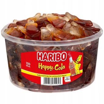 Haribo Happy Cola Jellies Флаконы Кола 150 шт.