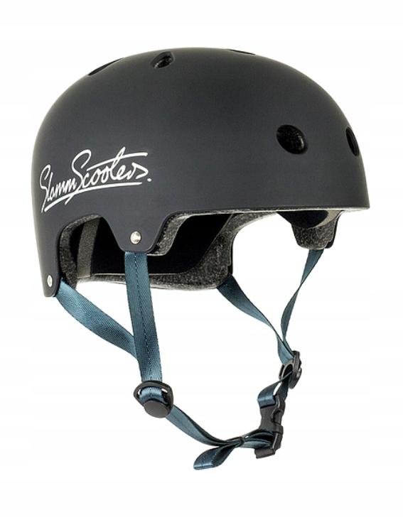 Prilba Slamm Logo pre skateboard na skútroch s rozmermi 49-52 cm