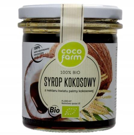 Coco Farm BIO syrop kokosowy 400g PYSZNY karmelowy