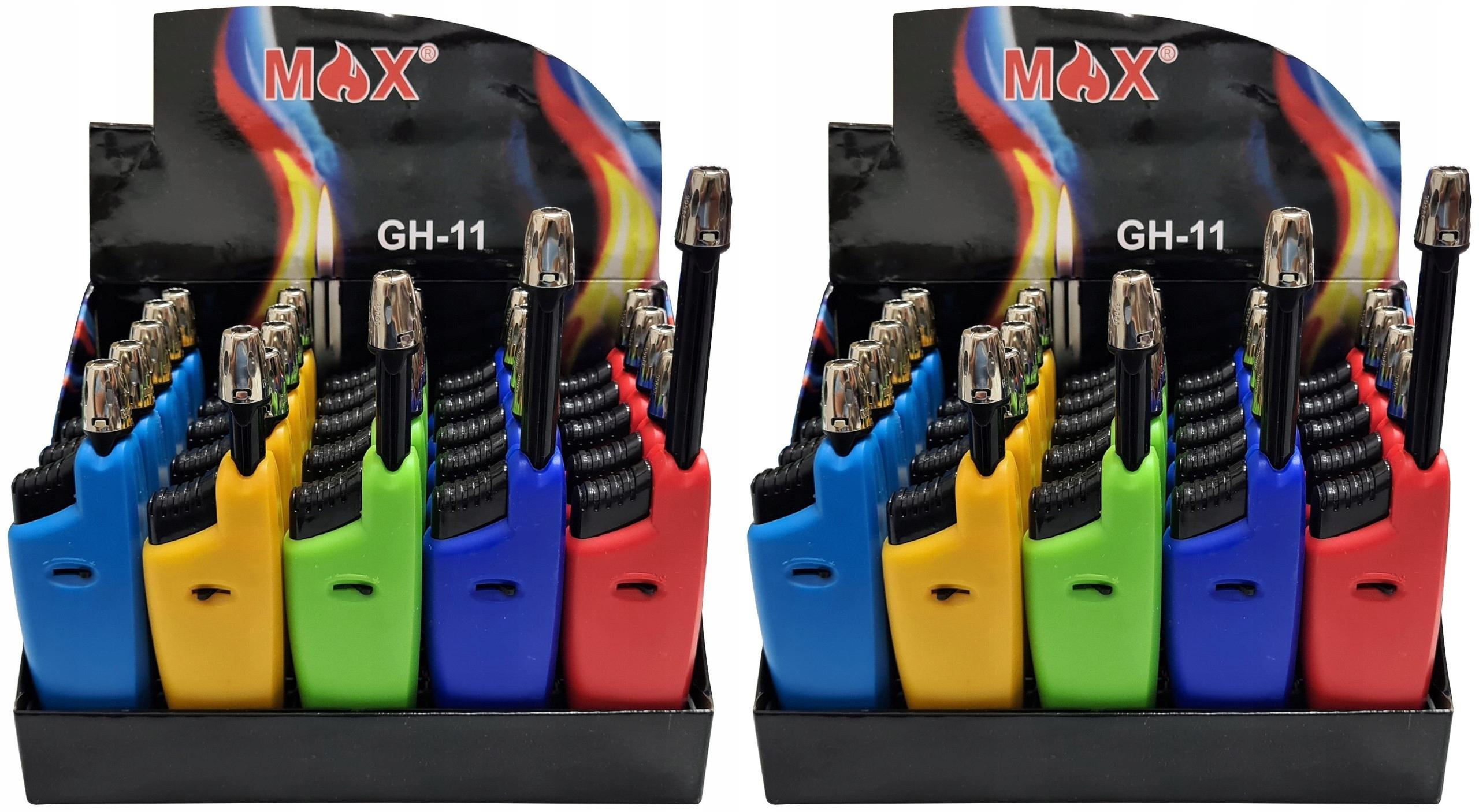 50x Zapalarka Zapalniczka MAX GH-11 do Gazu Zniczy