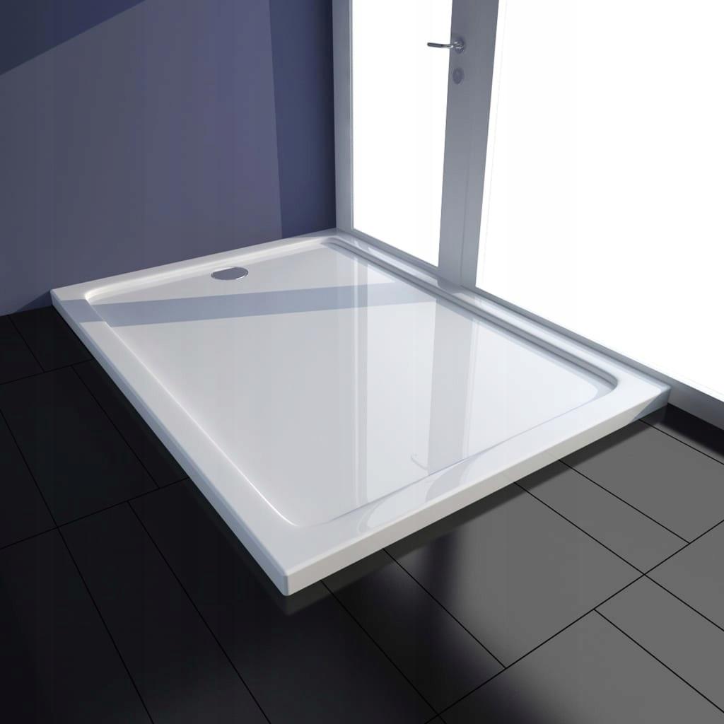 a1s sprchová vanička ABS, biela, 80x110 cm