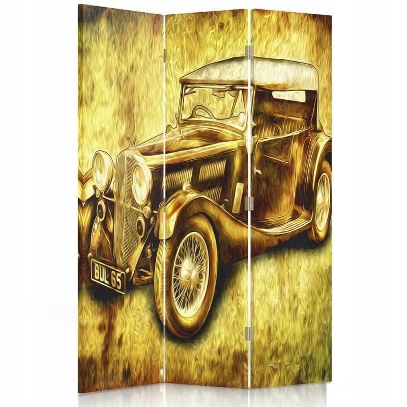 Displej na stenu retro autá sú 110x180