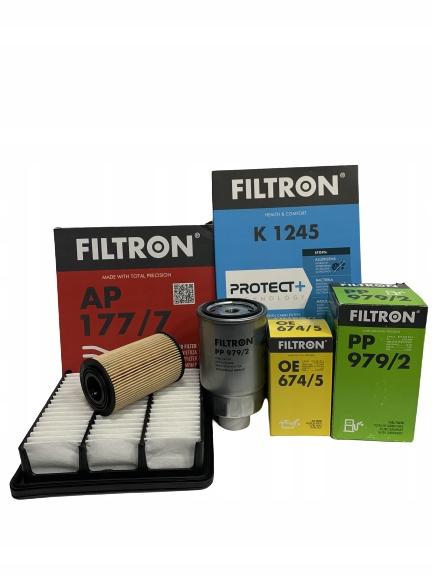 комплект фильтры filtron kia ceed 16 crdi