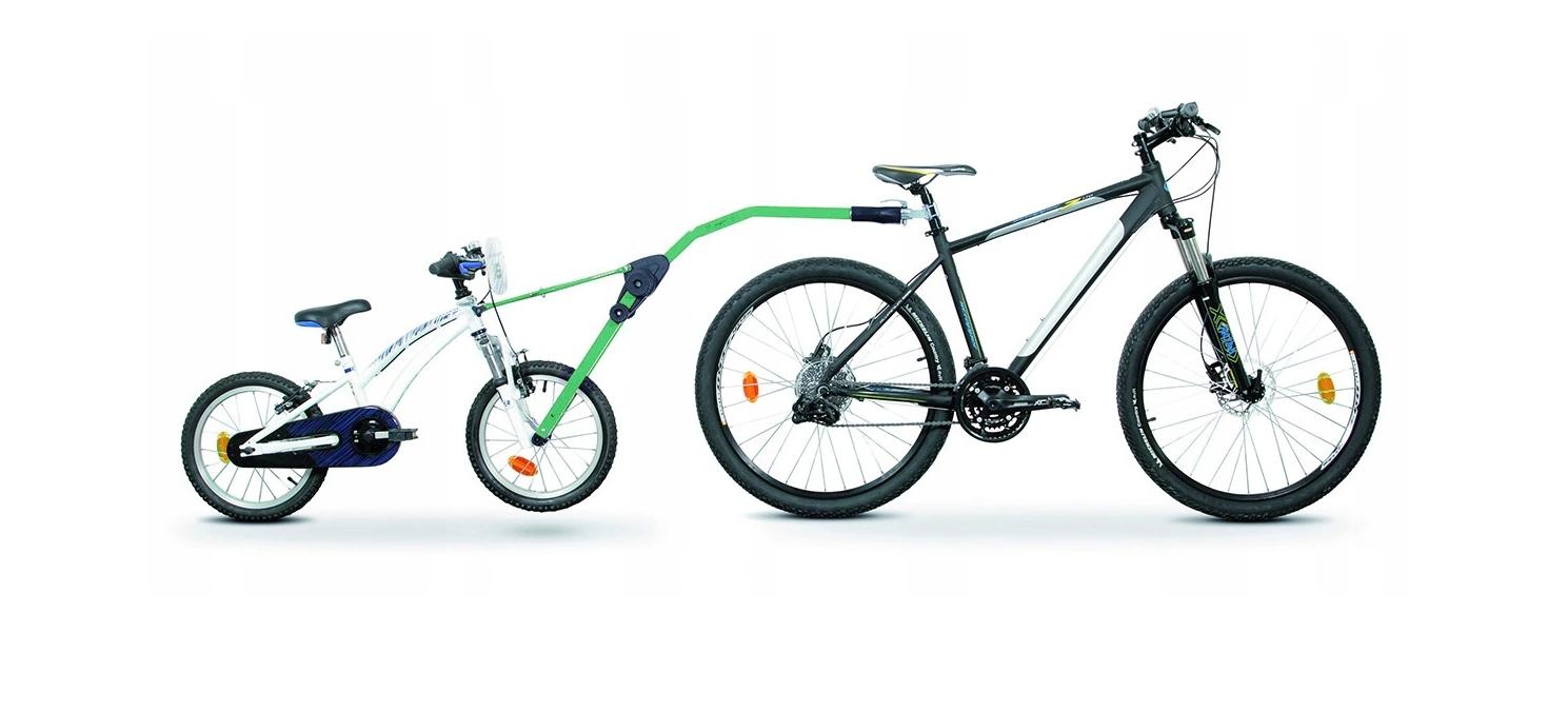 Hol holownik rowerowy roweru dziecka Trail Angel Model TRAIL ANGEL - ZIELONY