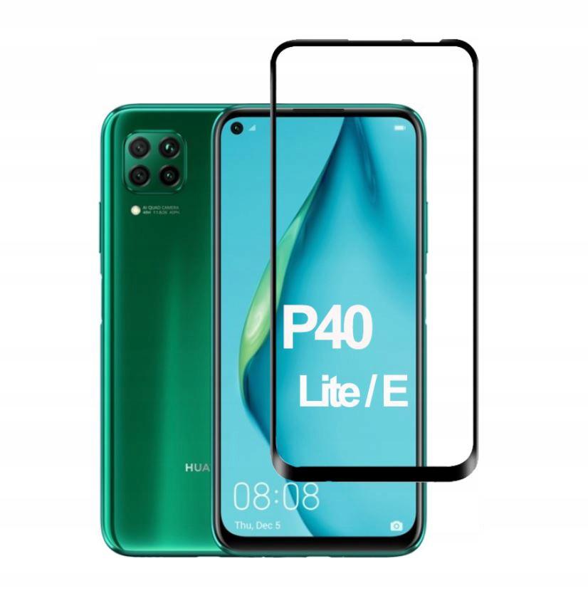 Szkło Hartowane 9H Pełne 9D do Huawei P40 Lite E