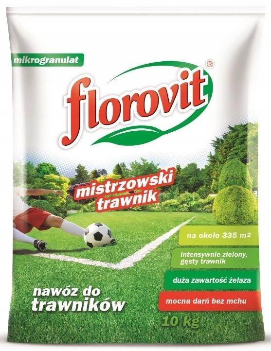 Удобрение ФЛОРОВИТ ДЛЯ ГАЗОНОВ с мхом 10 кг